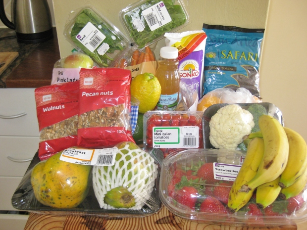 healthy grocery shopping South Africa